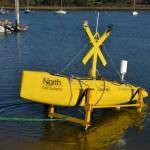 DataFish launches from Lymington slipway