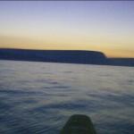 Dawn over the Dorset coast