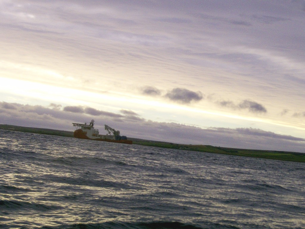 Cable laying in Pentland Firth requires ops to be carefully coordinated with tidal conditions